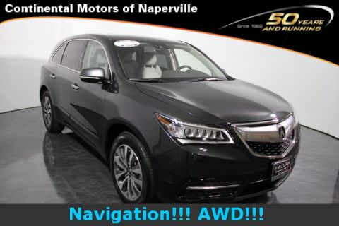 Certified Used Acura MDX w/Tech