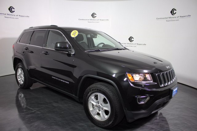 pre owned 2014 jeep grand cherokee laredo 4d sport utility in naperville p1353 continental. Black Bedroom Furniture Sets. Home Design Ideas