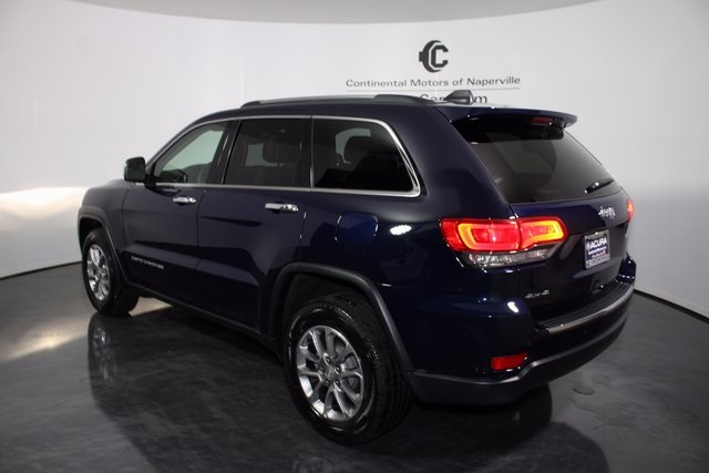 pre owned 2016 jeep grand cherokee 4d sport utility in naperville p7221 continental acura of. Black Bedroom Furniture Sets. Home Design Ideas