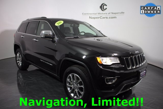 pre owned 2016 jeep grand cherokee 4d sport utility in naperville p7165 continental acura of. Black Bedroom Furniture Sets. Home Design Ideas
