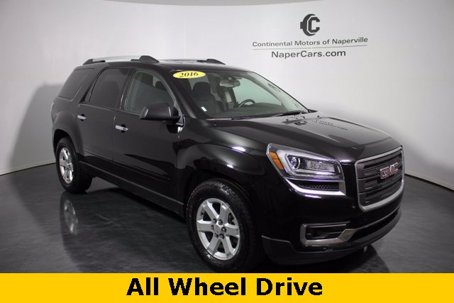 pre owned 2016 gmc acadia sle 1 4d sport utility in naperville p1373 continental acura of. Black Bedroom Furniture Sets. Home Design Ideas