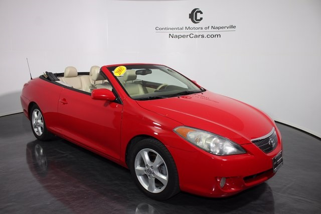 Pre Owned 2005 Toyota Camry Solara 2d Convertible In