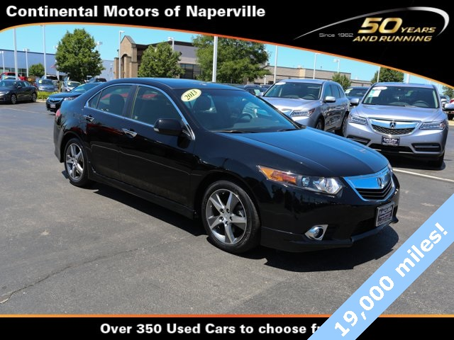 certified pre owned 2013 acura tsx special edition 4d sedan in naperville p7114 continental. Black Bedroom Furniture Sets. Home Design Ideas