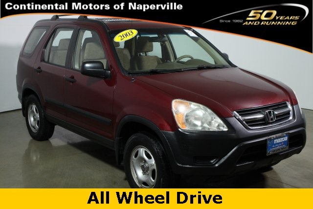 pre owned 2003 honda cr v lx 4d sport utility in naperville p1225a continental acura of. Black Bedroom Furniture Sets. Home Design Ideas